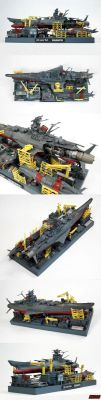 Yamato Dry Dock Collage by enc86