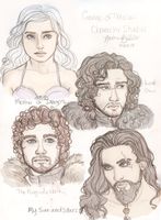 GoT: Character Studies by naomi-makes-art73