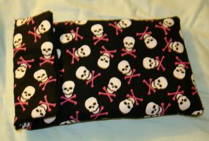 Girly Skulls Kindle cover by AkimaDoll