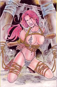 RED SONJA BY RODEL MARTIN by rodelsm21