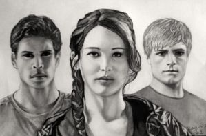 The Hunger Games by Kaylinbear