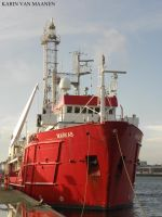 Singapore research/survey vessel Markab 1976- by roodbaard1958