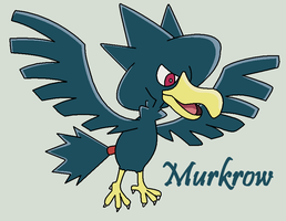 Murkrow by Roky320