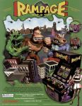 Rampage World Tour Flyer - Front by DarthArchanist
