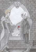Ethelred Hawke and Fenris by FenrisDeSolar