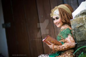 beauty of hijab by vianvin