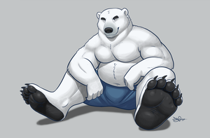 Polar Bear by Dj-Rodney