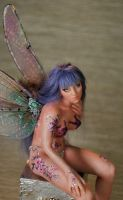 ooak fairy forget-me-not 3 by fairiesndreams