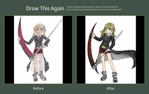 DRAW THIS AGAIN : Maka Albarn : 2010~2012 by ManaLookie