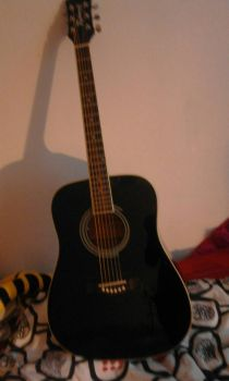 my guitar by fire862