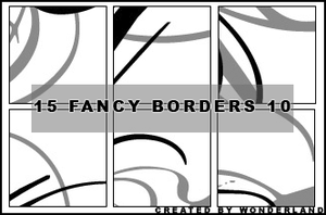 Fancy Icon Borders 10 by Foxxie-Chan