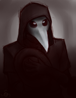 SCP-049: The Plague Doctor by Artevo-Des-Lavabo