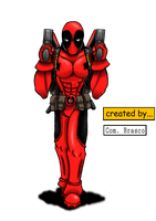 Deadpool by Brasco by ComandanteBrasco