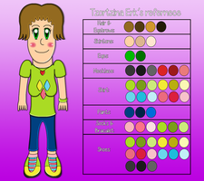 Digimon Hunters - Tzortzina Erk's Reference by TzortzinaErk