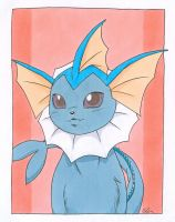 Vaporeon portrait. by chibelin