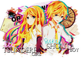 Shared Signature for me and Lee by AndrogynousPunky