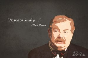 A tribute to Richard Griffiths by owlcreator
