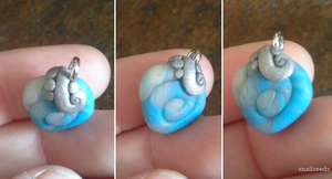 Atlantian Droplet charm by snailseeds