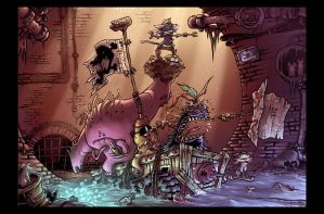 Pirates of the Sewers by TheDjib