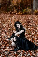 Goth Girl Stock 03 by MeetMeAtTheLake2Nite