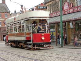 Yet another Beamish tram by piglet365