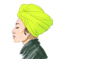 Yellow turban by Lucis7