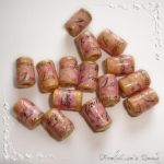 """""""Forever Love"""" paper beads by AmeliaLune"""