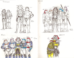 Mitch TMNT Height chart by mcaputo123187