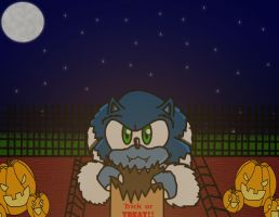 COTM: WEREHOG TRICK OR TREAT :3 by soulalchemist002