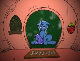 Trixie Alone by j5furry