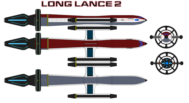 LL-176 Long Lance 2 Attack Craft. by bagera3005