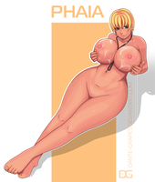 Nude Phaia by Dante-Grapes