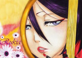 Rukia in a mirror by jessally