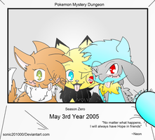 Pokemon MD Hope In Friends Season Zero by Sonic201000
