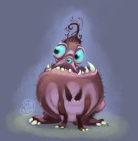 3 eyed 6 legged sketcoholic by Brett2DBean