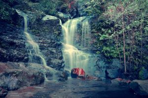 Wentworth Falls .II by ThatScalieThing