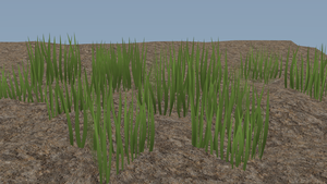 First Real Attempt At 3D Grass by hxtremechaos