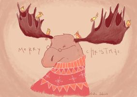 Merry Christmas 2013 by Distorted-Eye