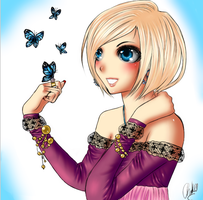 Lovely Butterflies by CharlyHantschel