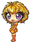 FNAF chibis 4: Human Chica by Forunth