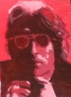 John Lennon Painting by CelticDream1989
