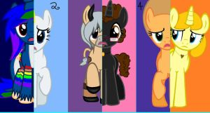 MLP Collab: What My Cuite Mark Is Telling Me[CLSD] by animelover276