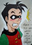 Robin did you watch me while I took a shower? by ItemReceived