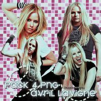 pack 4 png's avril lavigne by JBIsMyWorld