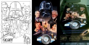 Deconstruction - Star Wars poster by Facuam