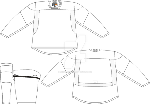 Nike NHL template by thepegasus1935