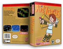 Kid Icarus Custom Case Cover by TuxedoMoroboshi