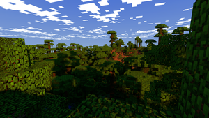 HD wallpaper | Minecraft Jungle by PoPlioP
