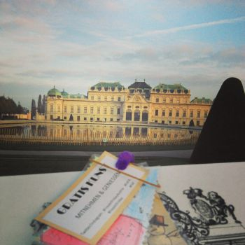 Belvedere and art in Vienna by circulus777