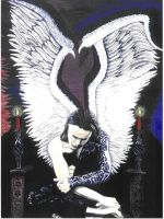 Ville Valo-Angel by violet-x-chi